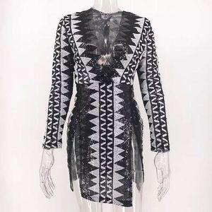 Cute side slit dress